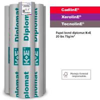 KronalinE, CadlinE / XerolinE / TecnolinE, ke500, Papel bond diplomat KE 20lbs 75g/m2
