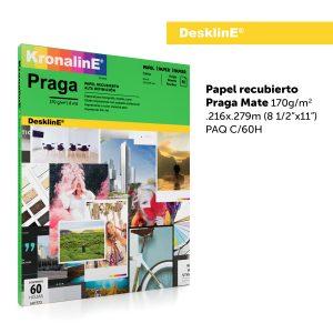KronalinE DesklinE ART573 Papel recubierto Praga Mate 170g/m2