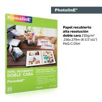 KronalinE PhotolinE BJ240 Papel Recubierto Doble Cara 230g/m2