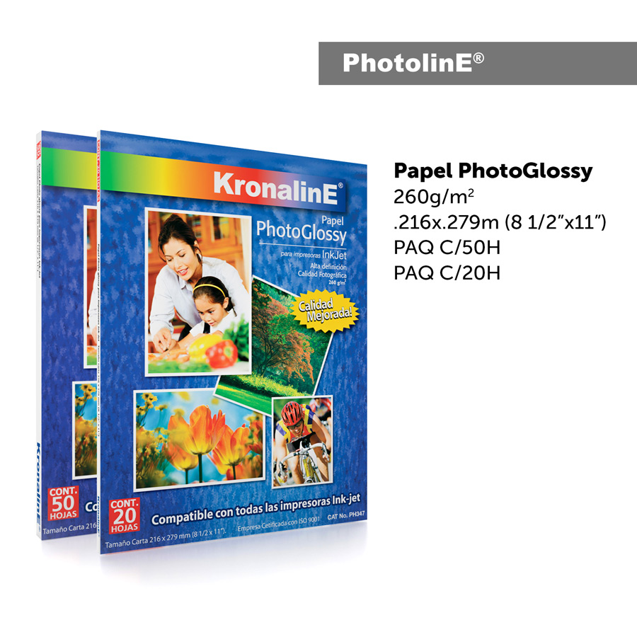 KronalinE PhotolinE PH346 PhotoGlossy 260g/m2