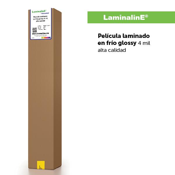 Pelicula laminado en frio glossy 4 mil alta calidad LF501-LaminalinE-SolventlinE-LatexlinE