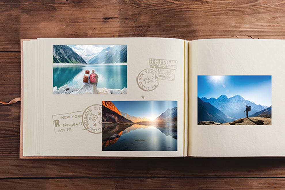Álbum de viaje impreso en papel fotográfico photoglossy 260g/m2 - Photoline - Kronaline