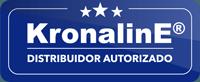 KronalinE Distribuidor Autorizado label rectangular - KronalinE - GUILA CENTROAMERICA