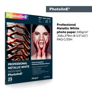 KronalinE PhotolinE PH110 Professional Metallic White 240g m2 - KronalinE - Página de inicio