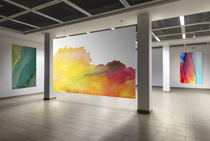 Kronaline materiales para Exposición y Arte
