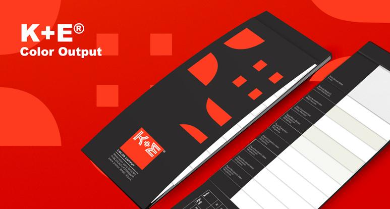 Linea K+E Color Output papeles de gran formato para diseño, publicidad y fotografía