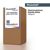 Professional Metallic White Photo Paper PhotolinE