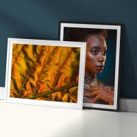 Cuadros de arte impresos en papel fotográfico white metallic 240g/m2 - Photoline - Kronaline