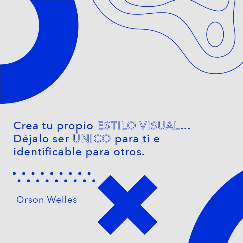 Crea tu proprio estilo visual...Orson Welles