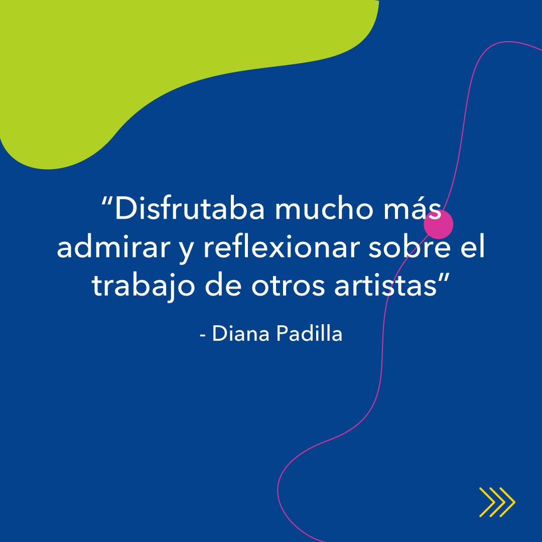 """Diana Padilla, entrevista KronalinE. """"Disfrutaba mucho mas admirar y reflexionar sobre el trabajo de otros artistas"""""""