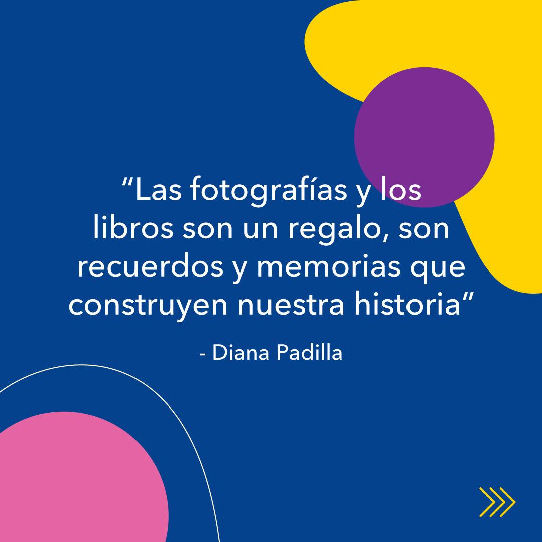 """Diana Padilla, entrevista KronalinE. """"Las fotografías y los libros son un legado, son recuerdos y memorias que construyen nuestra historia"""""""